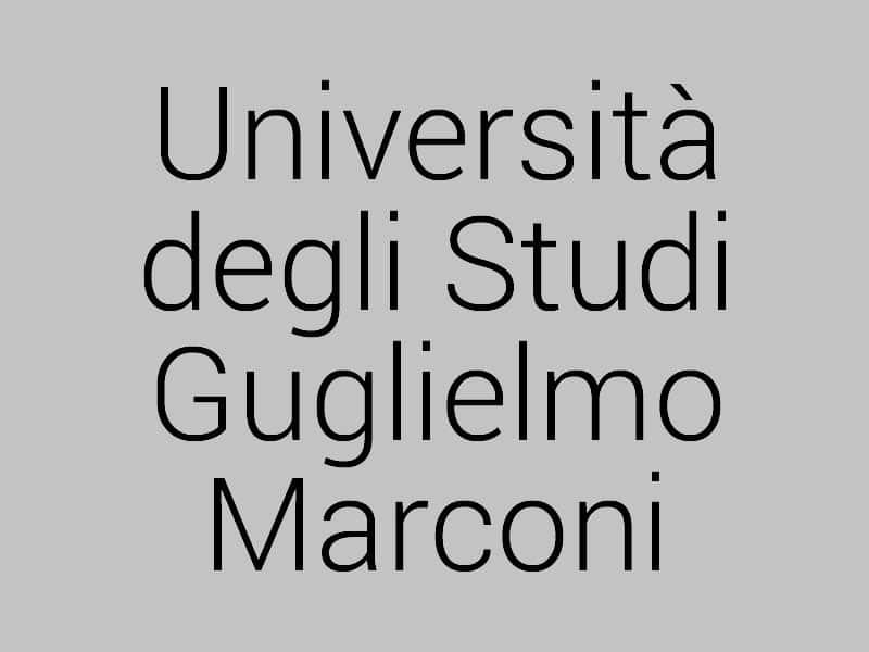 Università Telematica Guglielmo Marconi