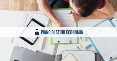 Piano di studi economia