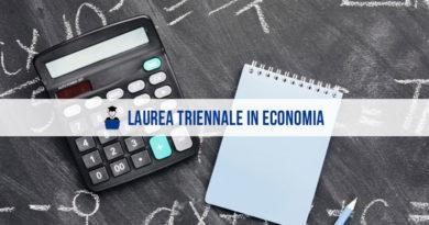 Laurea Triennale Economia, in cosa consiste esattamente