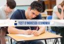 Test Ingresso Economia: informazioni e alternative