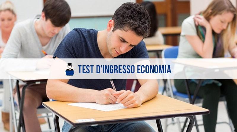 Test Ingresso Economia