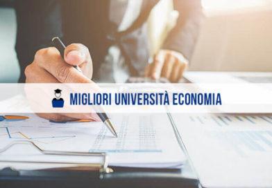 Migliori Università Economia: la classifica 2020