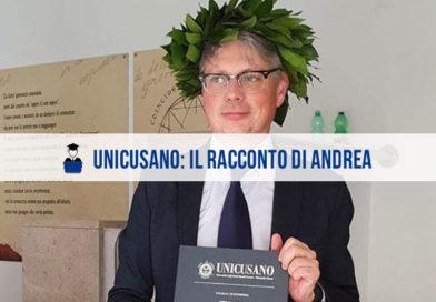 Opinioni Unicusano: l'intervista ad Andrea, laureato in Economia