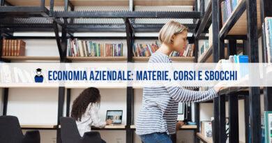 Economia Aziendale: materie, corsi di laurea online e sbocchi