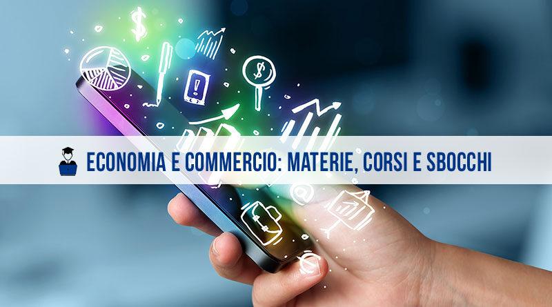 Economia e commercio materie