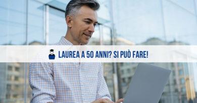 Laurea a 50 anni? In Economia? Si può fare!