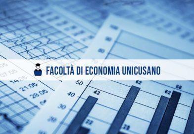 Facoltà Economia UniCusano: offerta formativa A.A. 2021/2022